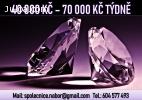 40 000 Kč - 70 000 Kč týdně